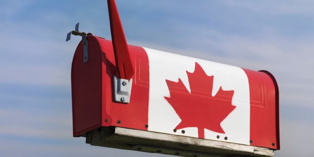 Canadian mailbox